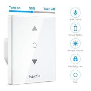 【4 Generación】 Interruptor ciego WiFi, interruptor Maxcio ...