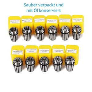 11 Piezas de precisión superior ER16 Portabrocas CNC portabrocas ...