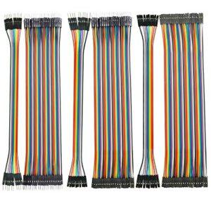 150 piezas de cable DuPont (10 cm), macho-hembra, macho-macho, ...