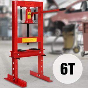 Prensa hidráulica - Capacidad máxima de 6t, 12t y 20t, incluyendo ...