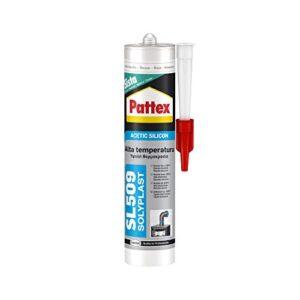 Pattex SL 509, silicona ácida de alta temperatura, color ...