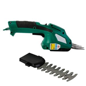 2 en 1 recargable para cortacésped de tijera pequeña para el hogar, ...