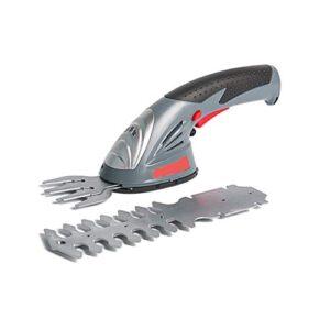 2 en 1 recargable para cortadora de césped doméstica de tijera pequeña, cor ...