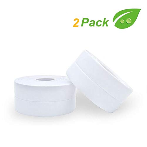 2 unidades de cinta de sellado para baño, impermeables, ...