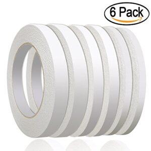 236 yardas cinta adhesiva de doble cara 6 rollos de cinta adhesiva ...