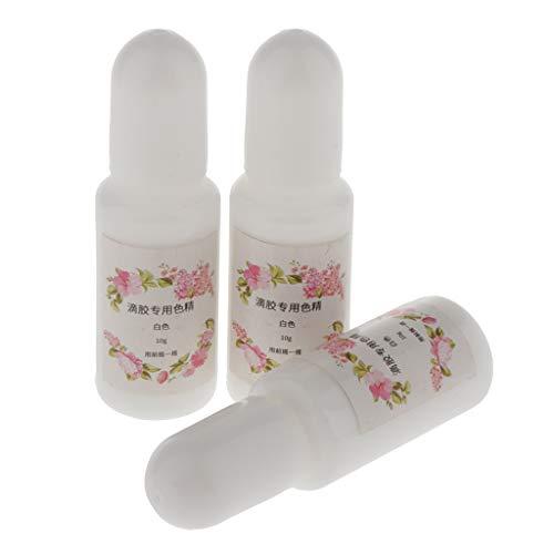 3 Botellas 15 ml Tinte de Resina Epoxi, Fácil de Dispersar, A ...
