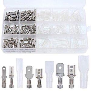 315 piezas de conexión rápida 2.8 mm 4.8 mm 6.3 mm macho y ...