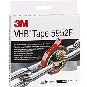 3M VHB 7000033156 Cinta Adhesiva, 19 mm X 3 m, 1 unidad, Negro ...