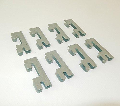8 Conectores para estanterías futtal y drutal.