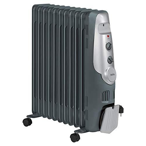 AEG RA 5522 - Radiador de aceite, 2200 W, 11 elementos, term ...
