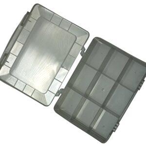 AERZETIX: Caja organizadora transparente 180x149x40mm con 9 ...
