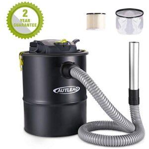 AUTLEAD Aspiradora de cenizas, 15L 900W Chim Vacuum ...