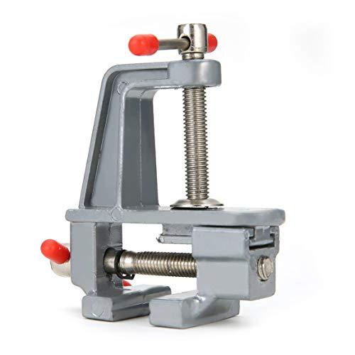 Abrazadera de metal de mesa de aleación de aluminio portátil Vise