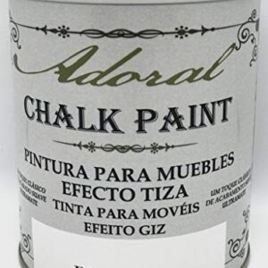 Adoral - Chalk Paint Pintura para muebles Chalk Effect 125 ml ...
