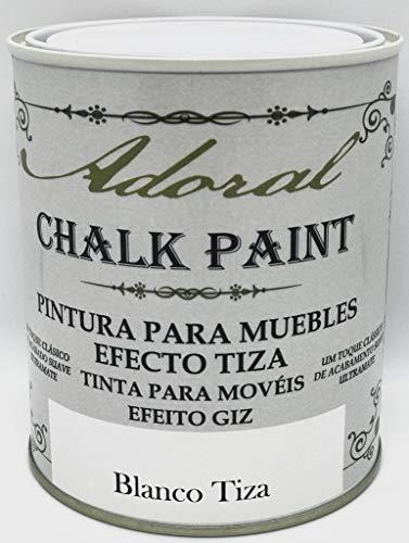 Adoral - Chalk Paint Pintura para muebles Chalk Effect 125 ml ...