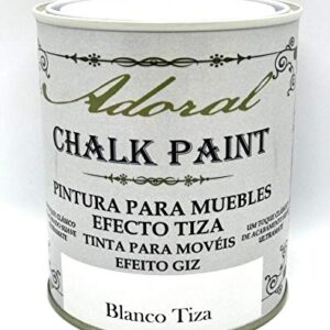 Adoral - Chalk Paint Pintura para muebles Chalk Effect 750 ml ...