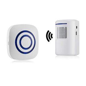 Alarma de seguridad, timbre de alarma inalámbrico HausFine para ...