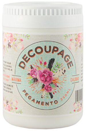 Amelie Prager 014803 Decoupage Glue, White, 250 ml