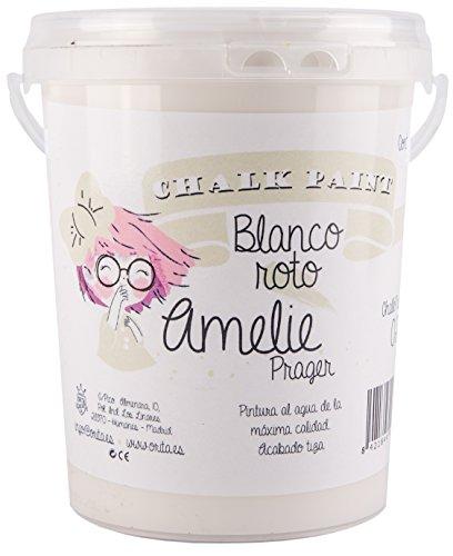 Amelie Prager 1000-02 Pintura de tiza, blanco roto, 1 l