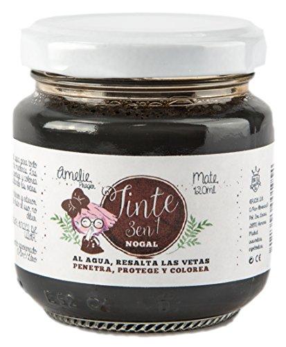 Amelie Prager 702504 Tinte, Nogal, 120 ml