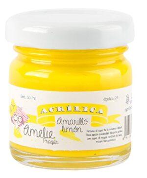 Amelie Prager AMA-24 Pintura acrílica, amarillo limón, 30 ml