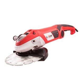 Amoladora angular Azor AA-3977, 2350 W, 230 V, rojo y negro