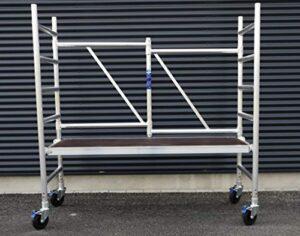 Andamio plegable de aluminio D75-6 APW completo con plataforma ...