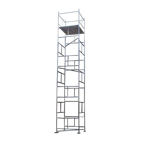Andamios y tableros de bricolaje galvanizados clásicos de 7,70 m (25 '' 3 '' x 4 '' ...