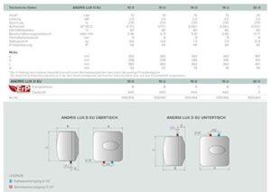 Ariston Thermo 3100339 calentador eléctrico Andris RS 30/3 E ...
