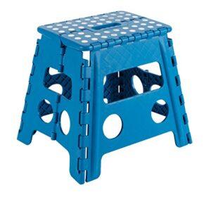 Arregui TB-032-A - Taburete plegable 29x22x32cm azul