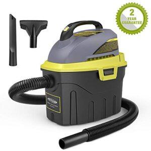 Aspiradora en seco y húmedo AUTLEAD, aspiradora compacta 1000W 12L ...