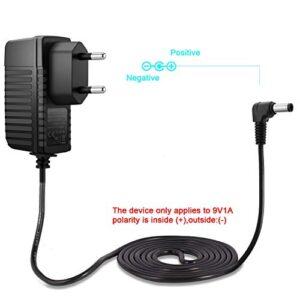 Aukru® 9V 1000mA Cargador de fuente de alimentación 5.5mm x 2.1mm para Ard ...