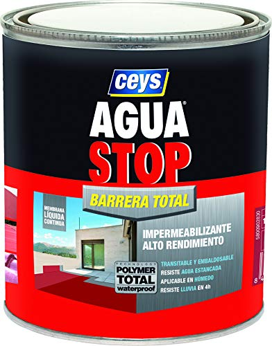 BARRERA DE PARADA DE AGUA TOTAL CEYS 1KG GRIS CLARO