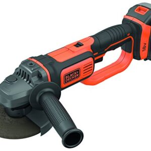 BLACK + DECKER BCG720M1-QW - Amoladora de 125 mm con batería de litio ...