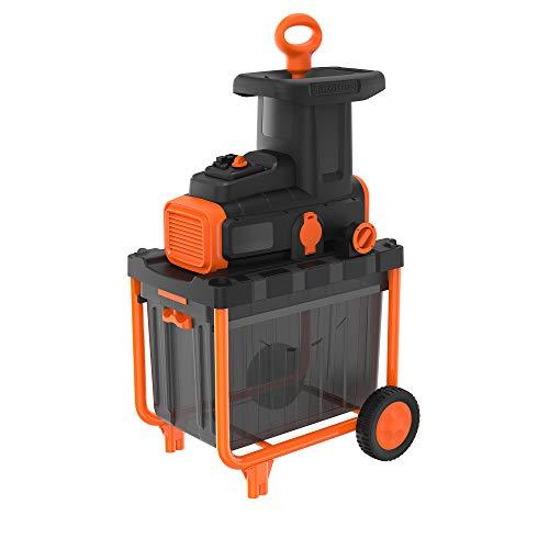 BLACK + DECKER BEGAS5800 - Astilladora eléctrica 2800W, 45 ...