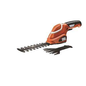 BLACK + DECKER GSL700-QW - Kit de cortacésped y tijeras para recortar ...