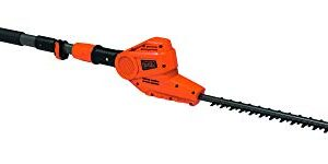BLACK + DECKER PH5551-QS - Recortadora de setos de poste de 550W, 51 c ...