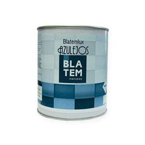 BLATEMLUX 750ml pintura para azulejos. El color blanco.