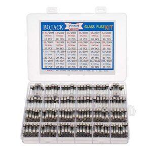 BOJACK 24 Valores 360 piezas Juego de surtido de fusibles de ...