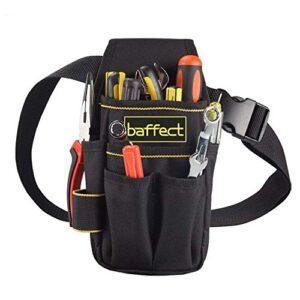Baffect - Bolsa de herramientas de lona con cinturón de nylon ...