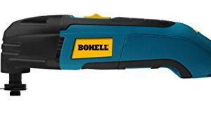 Bohell MF300 - Multiherramienta 300 W, cero, lija y corte, ...