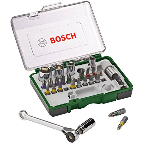 Bosch 2607017160 - Paquete de 27 unidades para atornillar, con ...