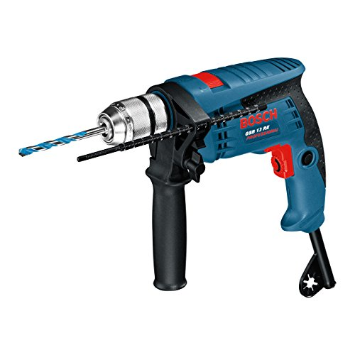 Bosch Professional GSB 13 RE - Martillo perforador (600 W, 0 - ...