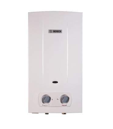 Bosch T2200 - Calentador de agua a gas natural con cámara abierta ...