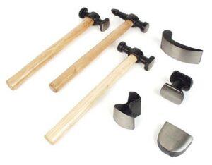 Brüder Mannesmann M 207-R - Juego de martillos (7 piezas)