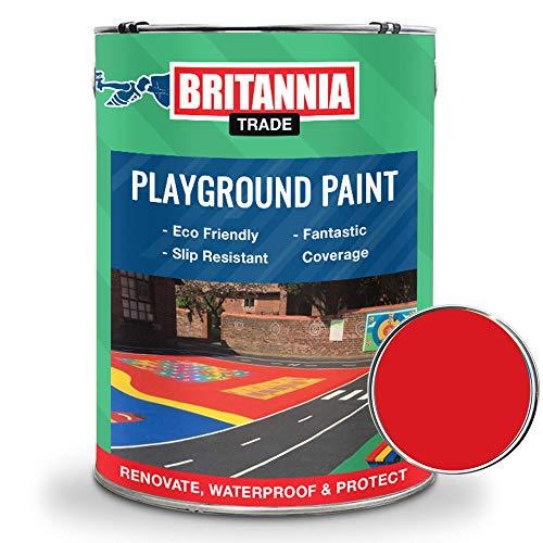 Britannia - Pintura para suelos de hormigón y asfalto (5 L), ...