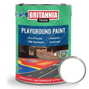 Britannia pintura blanca para parque infantil 5 litros, pin ...
