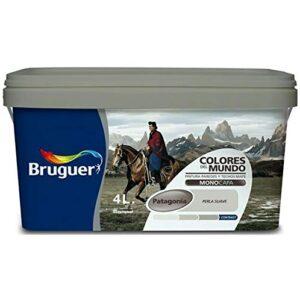 Bruguer 177164 Pintura de paredes y techos, Patagonia Pearl Soft ...