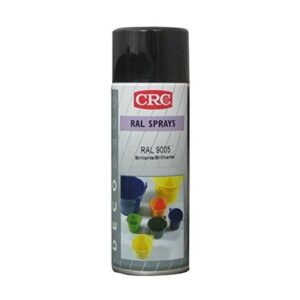 CRC 31308-AA Spray de pintura, negro brillante, 400 ml