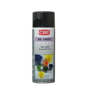 CRC 31308-AA Spray de pintura, negro brillante, 400 ml